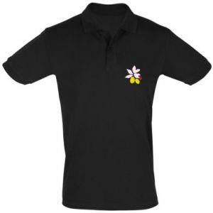 Koszulka Polo Cytryny na gałęziach