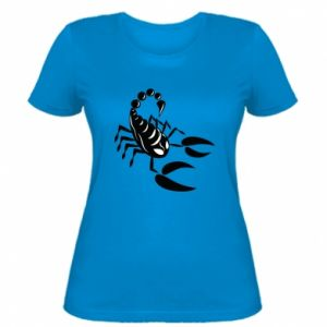 Women's t-shirt Black scorpion