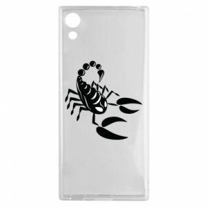 Etui na Sony Xperia XA1 Czarny skorpion