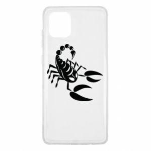 Etui na Samsung Note 10 Lite Czarny skorpion