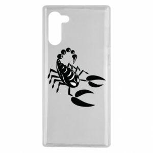 Etui na Samsung Note 10 Czarny skorpion