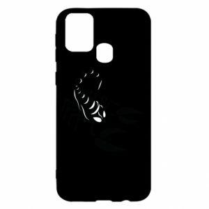 Etui na Samsung M31 Czarny skorpion