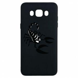 Etui na Samsung J7 2016 Czarny skorpion