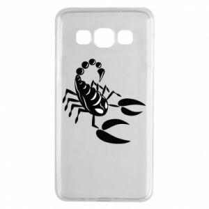 Etui na Samsung A3 2015 Czarny skorpion
