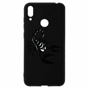 Etui na Huawei Y7 2019 Czarny skorpion