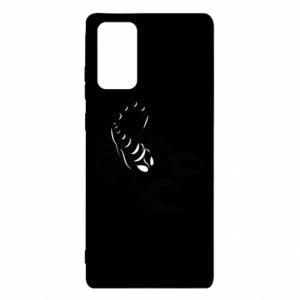 Etui na Samsung Note 20 Czarny skorpion