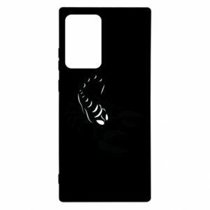 Etui na Samsung Note 20 Ultra Czarny skorpion