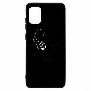 Etui na Samsung A31 Czarny skorpion