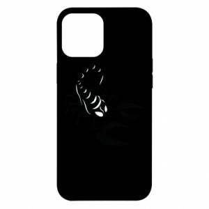 Etui na iPhone 12 Pro Max Czarny skorpion