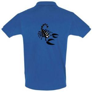 Koszulka Polo Czarny skorpion