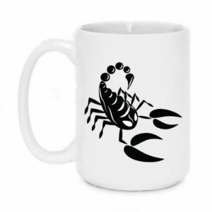 Kubek 450ml Czarny skorpion - PrintSalon