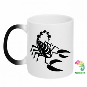 Chameleon mugs Black scorpion