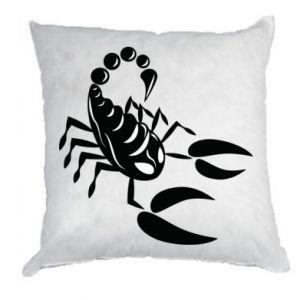 Poduszka Czarny skorpion