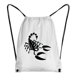 Backpack-bag Black scorpion
