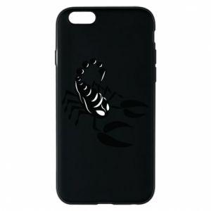 Etui na iPhone 6/6S Czarny skorpion