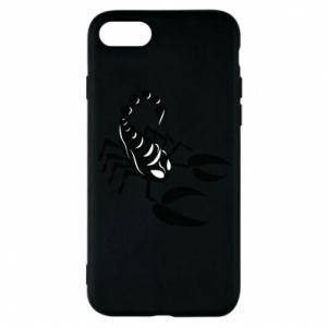Etui na iPhone 7 Czarny skorpion