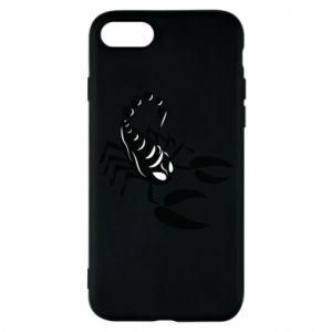 Etui na iPhone 8 Czarny skorpion - PrintSalon