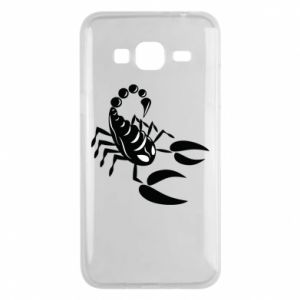 Etui na Samsung J3 2016 Czarny skorpion