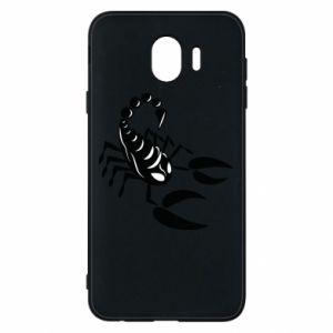 Etui na Samsung J4 Czarny skorpion