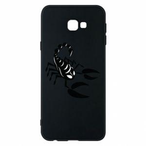 Etui na Samsung J4 Plus 2018 Czarny skorpion