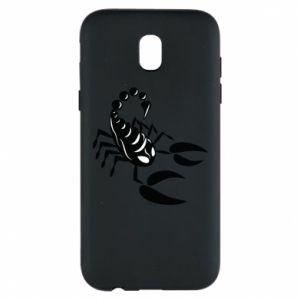 Etui na Samsung J5 2017 Czarny skorpion