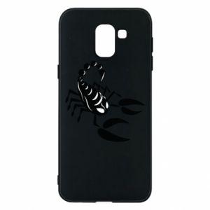 Etui na Samsung J6 Czarny skorpion