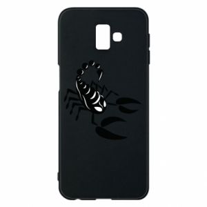 Etui na Samsung J6 Plus 2018 Czarny skorpion