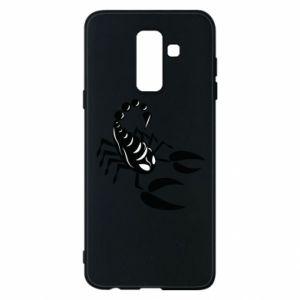 Etui na Samsung A6+ 2018 Czarny skorpion - PrintSalon