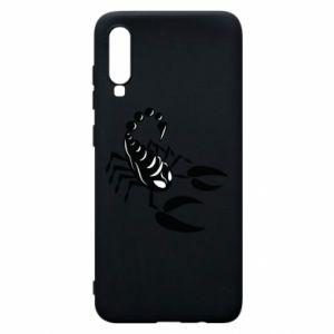 Etui na Samsung A70 Czarny skorpion