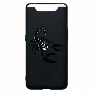 Etui na Samsung A80 Czarny skorpion