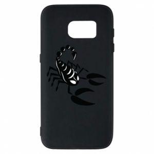 Etui na Samsung S7 Czarny skorpion