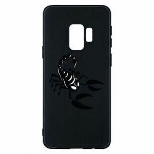 Etui na Samsung S9 Czarny skorpion