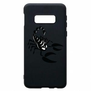 Etui na Samsung S10e Czarny skorpion