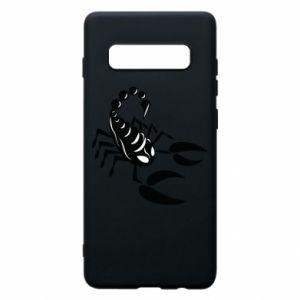 Etui na Samsung S10+ Czarny skorpion