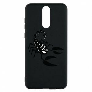 Etui na Huawei Mate 10 Lite Czarny skorpion
