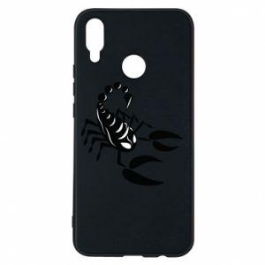 Etui na Huawei P Smart Plus Czarny skorpion