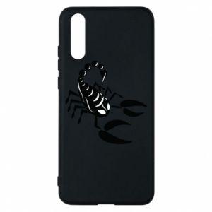 Etui na Huawei P20 Czarny skorpion