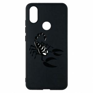 Etui na Xiaomi Mi A2 Czarny skorpion