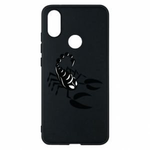 Etui na Xiaomi Mi A2 Czarny skorpion - PrintSalon