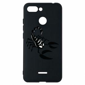 Etui na Xiaomi Redmi 6 Czarny skorpion
