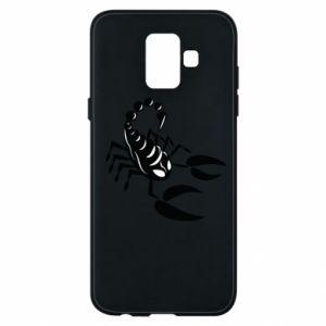 Etui na Samsung A6 2018 Czarny skorpion