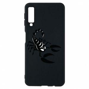 Etui na Samsung A7 2018 Czarny skorpion