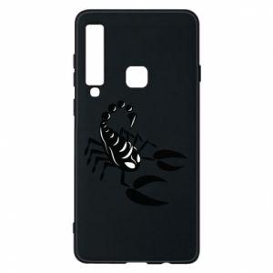 Etui na Samsung A9 2018 Czarny skorpion - PrintSalon