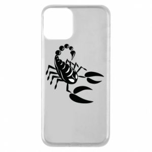 Etui na iPhone 11 Czarny skorpion