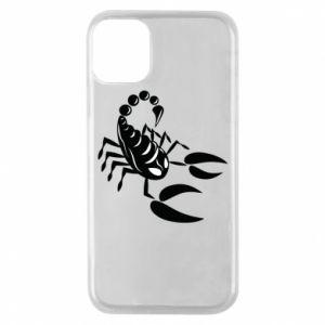 Etui na iPhone 11 Pro Czarny skorpion