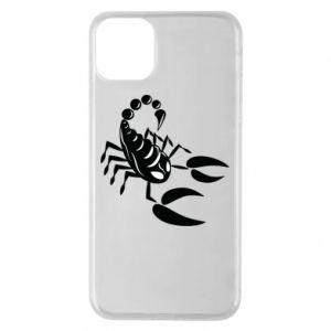 Etui na iPhone 11 Pro Max Czarny skorpion