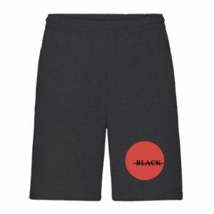Men's shorts Вlack
