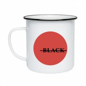 Enameled mug Вlack