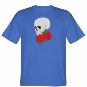 T-shirt Skull in flowers