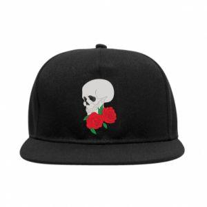 SnapBack Skull in flowers